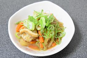 健康レシピ 1 ひき菜もち(ひきなもち)作り方・レシピ